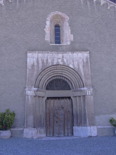 Portail église La Roche