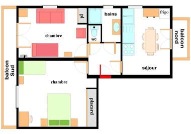 Maison Gagniere - 2 pièces 6 personnes - GAG003
