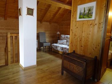 Mezzanine Location Meublé Chalet Quillawasi Chaillol