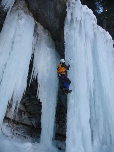Cascade de glace - Eric Fossard