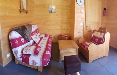 Salon chalet de Pont Peyron La Marmotte
