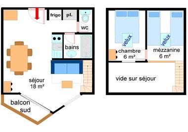 Hauts De Val Cenis - 2 pièces 6 personnes *** - HVC218