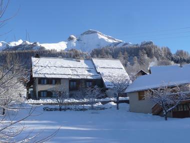 Maison hiver M. MARTIN JL Meublé Chaillol