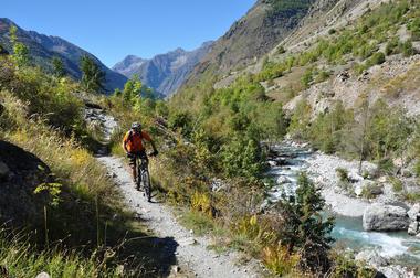 Tour de la Valgaude en VTT