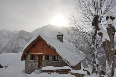 Gîte Peyou en hiver
