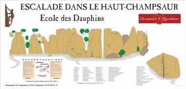 Escalade Ecole des Dauphins Haut-Champsaur