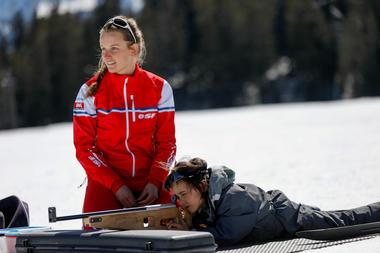 Biathlon ESF St Léger