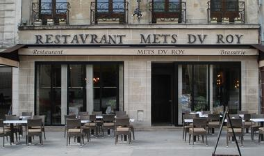 Restaurant Les Mets du Roy Saint-Denis