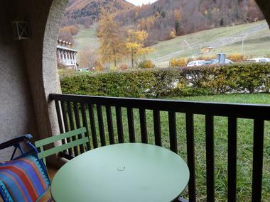 Balcon Meublé location M. GILLES G St Léger les Mélèzes