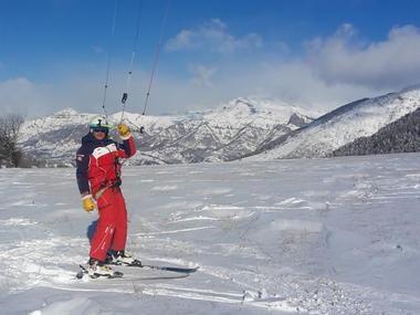 Ecole Snowkite Champsaur