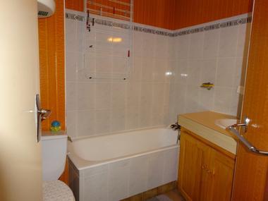 Salle de bain WC Meublé location M. GILLES G St Léger les Mélèzes