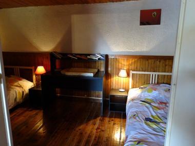Chambre lits simples Meublé CHAVE JL Laye Champoleon
