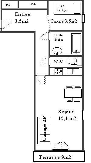 Setives - Studio 4 personnes ** - SET22