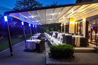 Terrasse Hôtel restaurant Baud