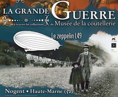 nogent 52 exposition 2017 grande guerre le zeppelin.