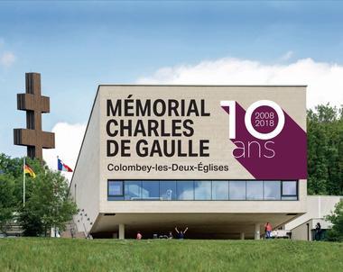 champagne 52 colombey les deux eglises 10e anniversaire memorial charles de gaulle recadre.