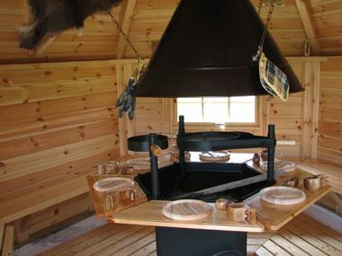 champagne 52 bourg sainte marie camping les hirondelles chalet interieur.