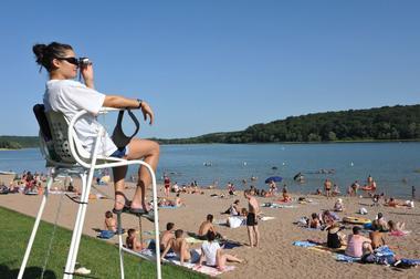 champagne 52 loisirs lac de la liez baignade plage phl 7559.