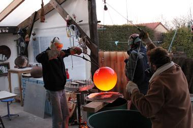 champagne 52 luzy sur marne art creatif l emaux pour le dire mdt52 sortie feu raku.