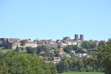 champagne 52 langres patrimoine vue ville phl 5540.