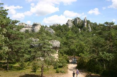Parc de Loisirs de Montpellier-le-Vieux Orientation par GPS