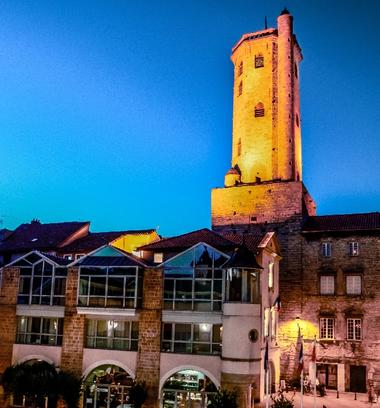Beffroi de Millau - Tour des Rois d'Aragon