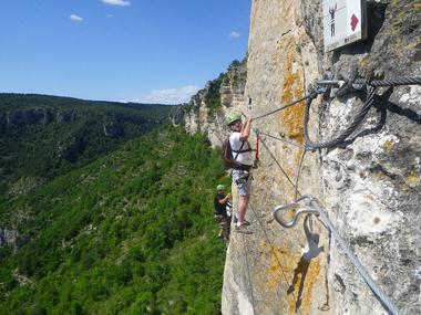 Acro-Bat. Millau - Via Ferrata