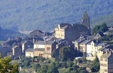 château de St Beauzély