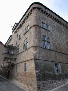 château de Saint Beauzély