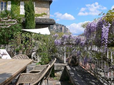 notre jardin avec vue panoramique