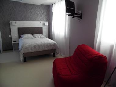 Chambre à l'Hôtel L'Etape