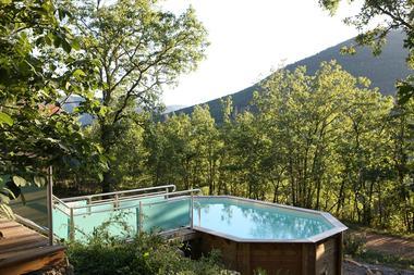 Piscine - Gîte insolite en pleine nature en occitanie