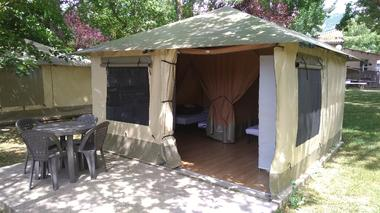 Tente Lodge Mayotte pour 4 personnes