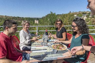 Le restaurant (terrasse panoramique)