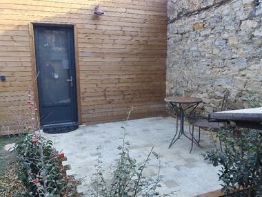 Chambre la Fabrique - Terrasse