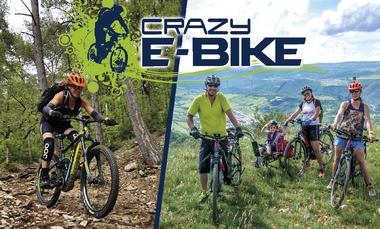 Crazy e-Bike - Location de VTT / VTC électriques à Millau