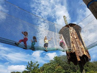 Antipodes Arbres et Cimes - Parcours dans les arbres