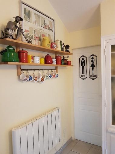 Le Mas Albizia - Accés Cellier Buanderie WC attenants à la cuisine