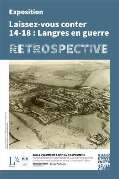 langres en guerre 1914 1918 retrospective.