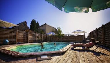champagne 52 langres hotel la poste piscine.