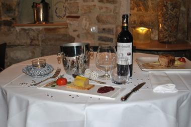 champagne 52 chaumont chamarandes hotel au rendez vous des amis plat restaurant 2.