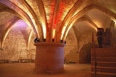 champagne 52 langres patrimoine tour de navarre salle basse 14 angelique roze.