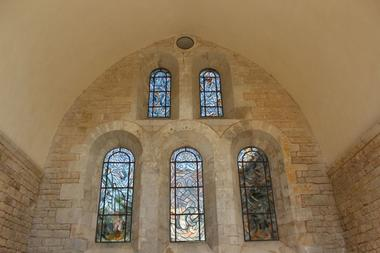 champagne 52 auberive patrimoine religieux abbaye chevet cistercien phl 04.