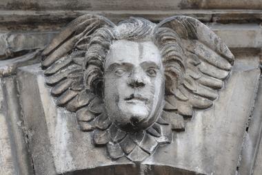 champagne 52 chaumont patrimoine religieux basilique saint jean detail phl 9847.