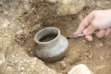 champagne 52 saint dizier vestiges site des crassees fouilles archeo phl 8582.