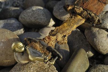 champagne 52 saint dizier site des crassees vestiges merovingiens 66.