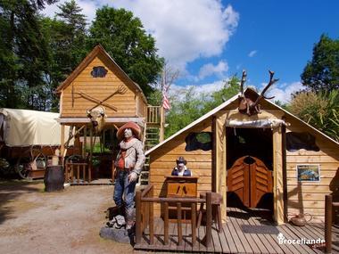 Camp western 6 Camping d'Aleth St-Malo de Beignon Brocéliande