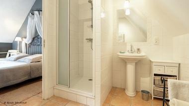 Domaine du Val Ory_Chambre Gingembre Salle de bain