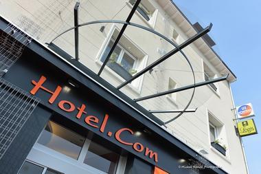 Façade extérieure Hôtel.com