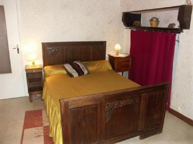 Gîte Raflegeau chambre - Missiriac - Morbihan - Bretagne